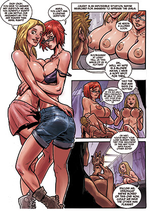 Size Swingers - comic now available for download