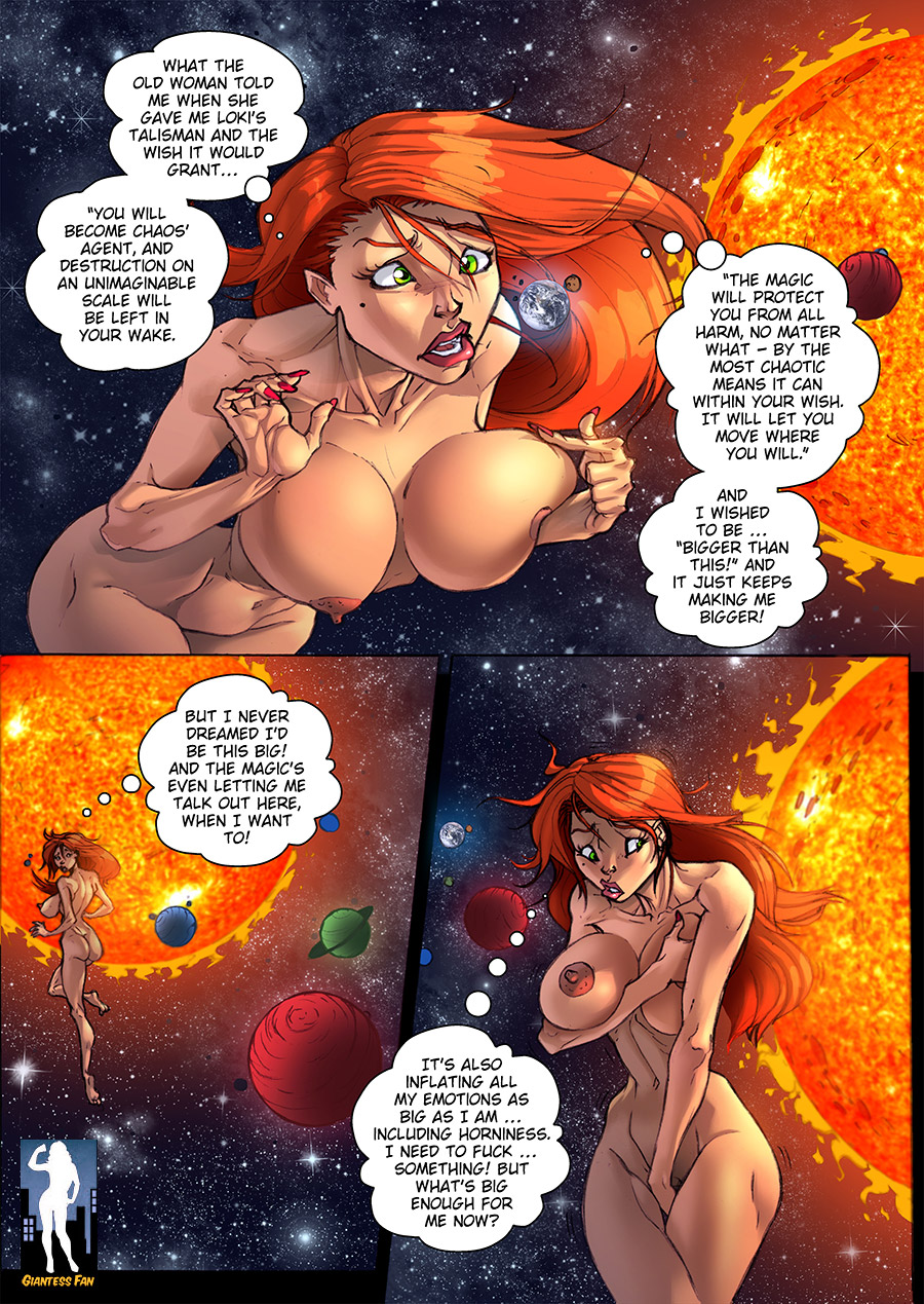 giantess comic - bigger than this 2