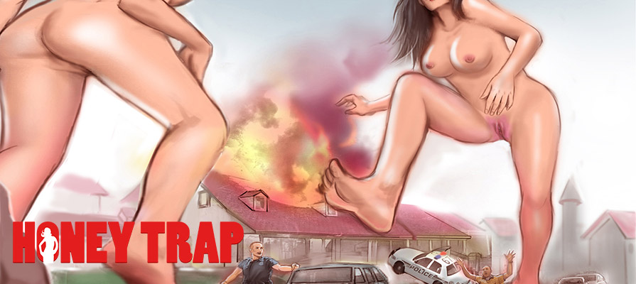 Honey Trap - giantess comic