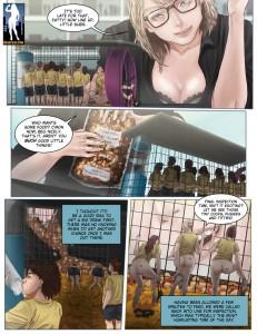 shrunken woman comic
