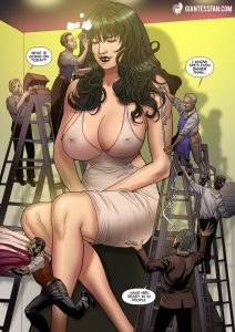 giantess_pria_and_her_makeup_crew_by_giantess_fan_comics-da0l60l